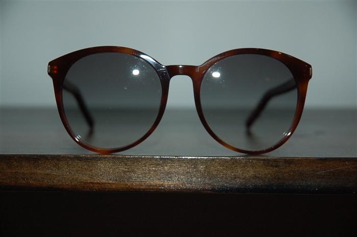 e128ad0a80b8 Item 115598: Saint Laurent, Sunglasses, Tortoise Shell, O/S | Garb ...