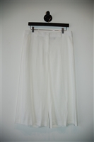 Bright White Theory Culottes, size 8