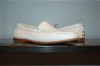 Bright White Tod's Loafer, size 7