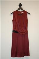 Maroon Helmut Lang Cocktail Dress, size 2