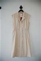Cream Max Mara Shirt Dress, size 10