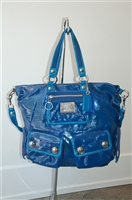 Royal Blue Coach Tote, size L