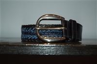 Blue & Black Gucci Belt, size M