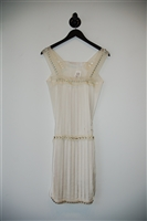 Cream Lanvin Sheath Dress, size 6