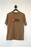 Olive Diesel T-Shirt, size M