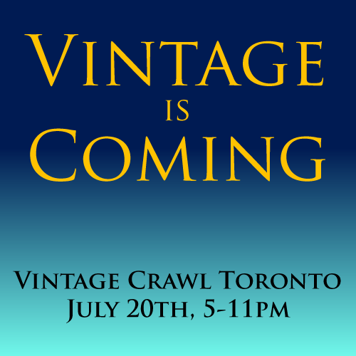 Vintage Crawl Summer 2017